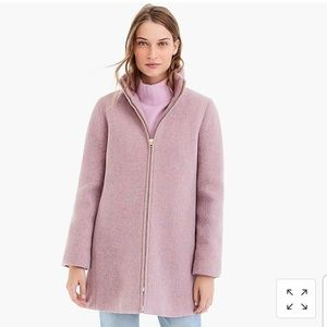 NWT J. Crew Lodge coat in Italian wool